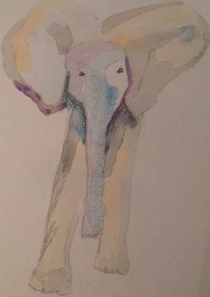 watercolour-elephant